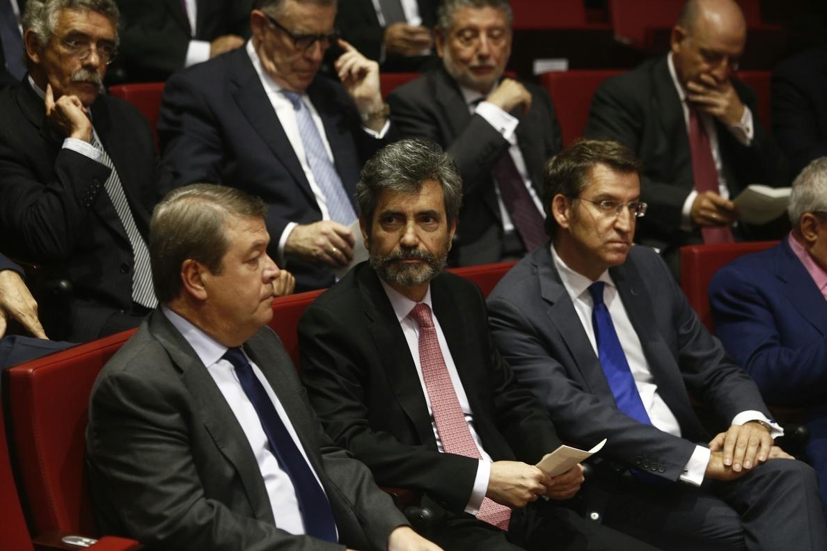 Lesmes cree que la incorporación al Supremo de Tolosa supone ganar un «magistrado de calidad»
