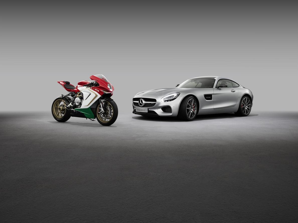 Mercedes-AMG adquirirá el 25% de motocicletas MV Agusta