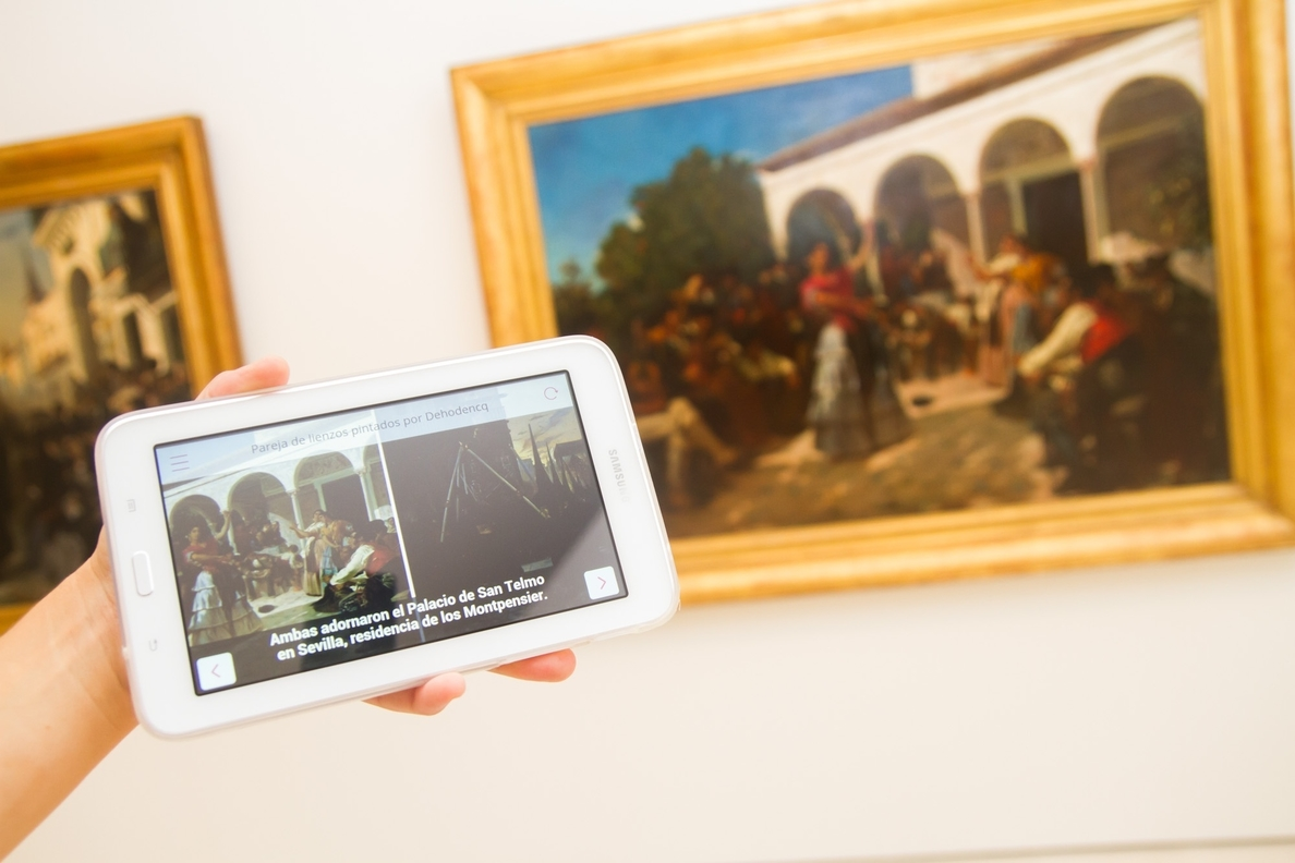 El Museo Thyssen pone en marcha una »app» accesible para la visita de su colección