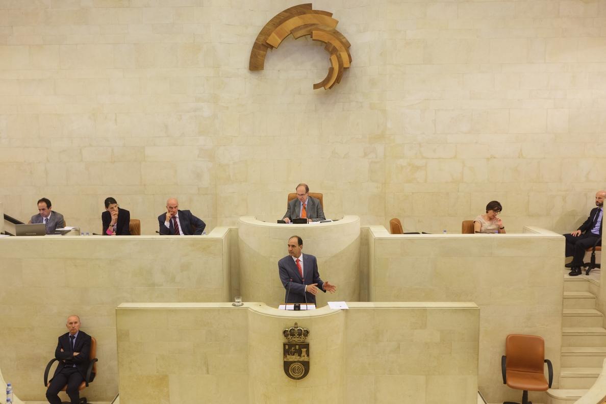 El Parlamento debatirá los presupuestos los días 22 y 23 de diciembre