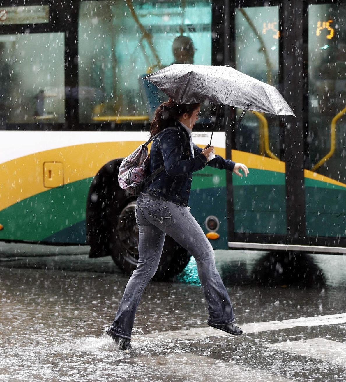 Protección Civil avisa de lluvias persistentes y tormentosas a partir de hoy