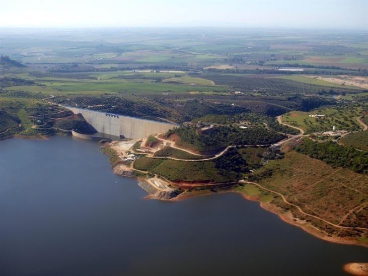 Los pantanos andaluces se encuentran al 71,34%, siete puntos por debajo de los niveles de 2013