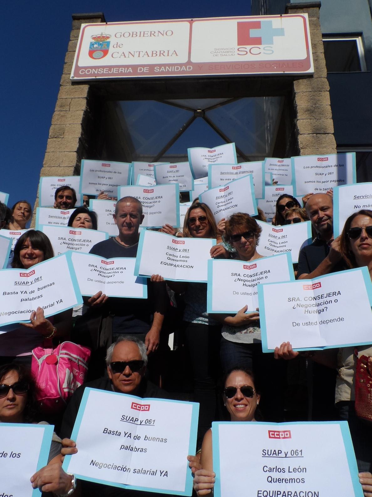 Los sindicatos convocan huelga indefinida en el SUAP y el 061 a partir del 15 de noviembre