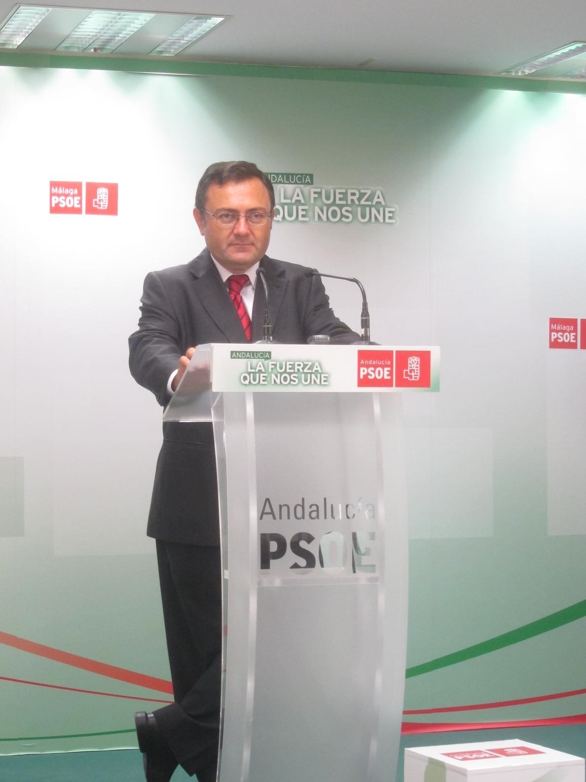 PSOE destaca que las cuentas andaluzas «protegen a las personas» mientras el PP «deja en punto muerto» a Málaga