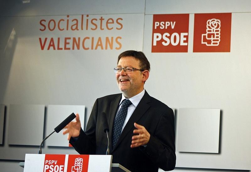 PSPV pide una reforma global de la política y cree que Rajoy «no puede ser el detergente» porque es «la mancha»