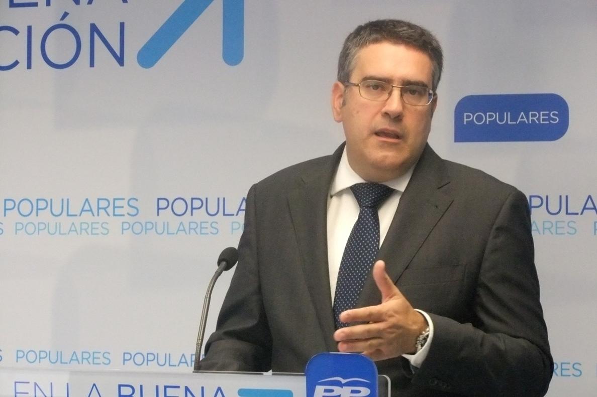 Rodríguez (PP): «PSOE hace con el código ético como con el proceso de primarias, aplicarlo cuando le conviene»