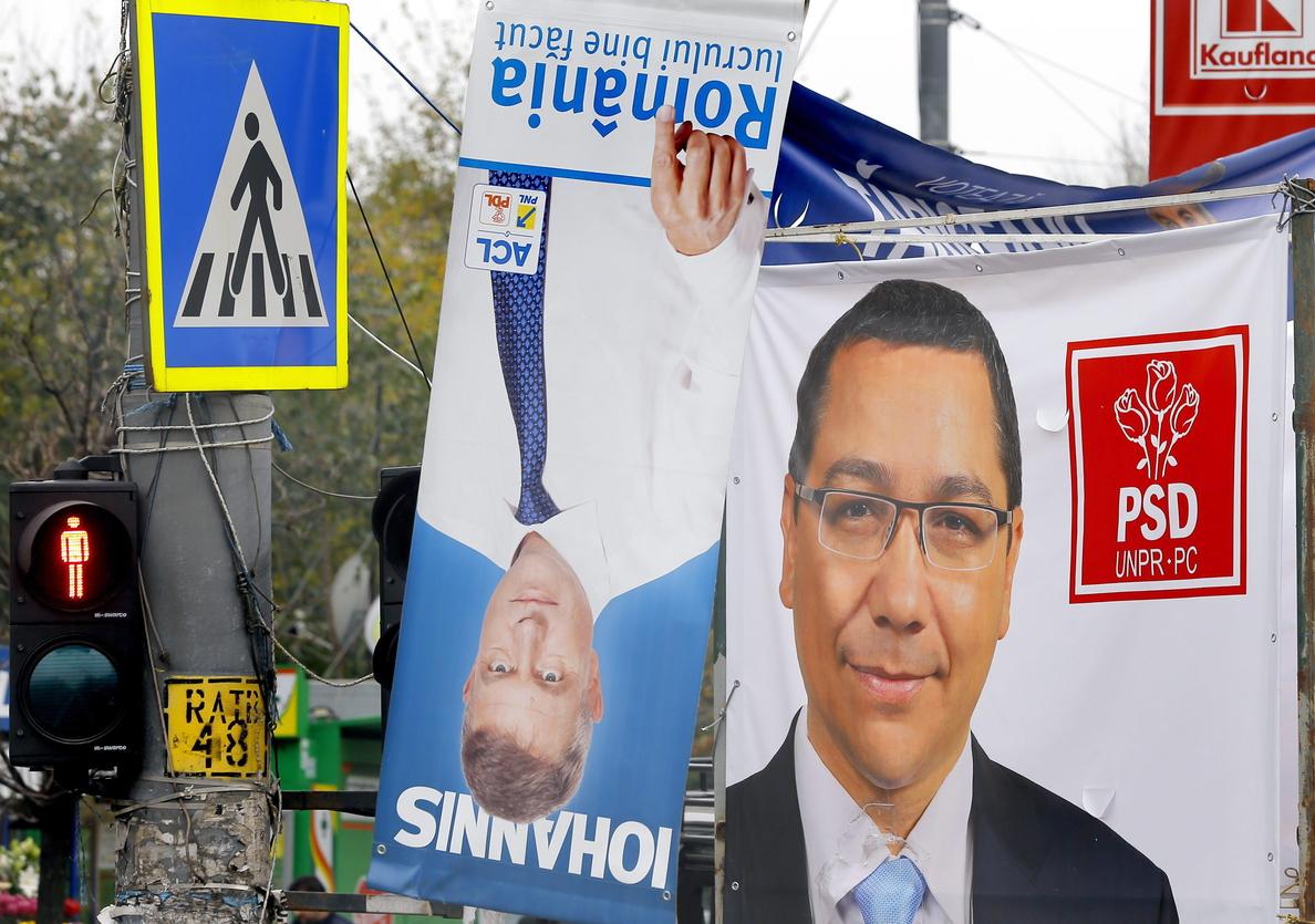 Rumanía elige el domingo nuevo presidente en unos comicios polarizados