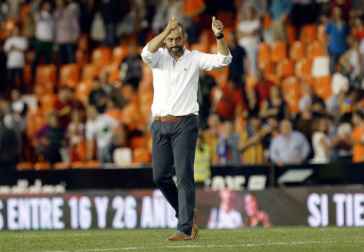 Nuno deja caer en la previa ante el Villarreal que quiere renovar con el Valencia