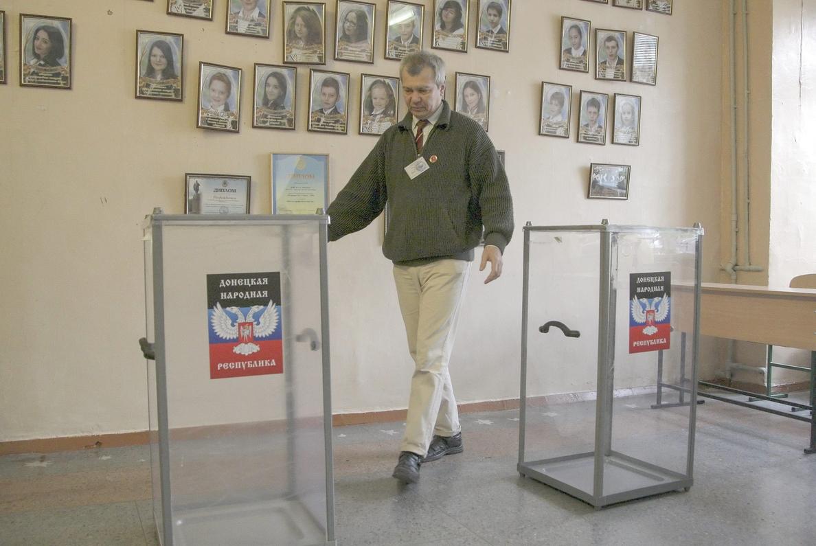 Las elecciones separatistas, un nuevo pulso entre Moscú y Kiev