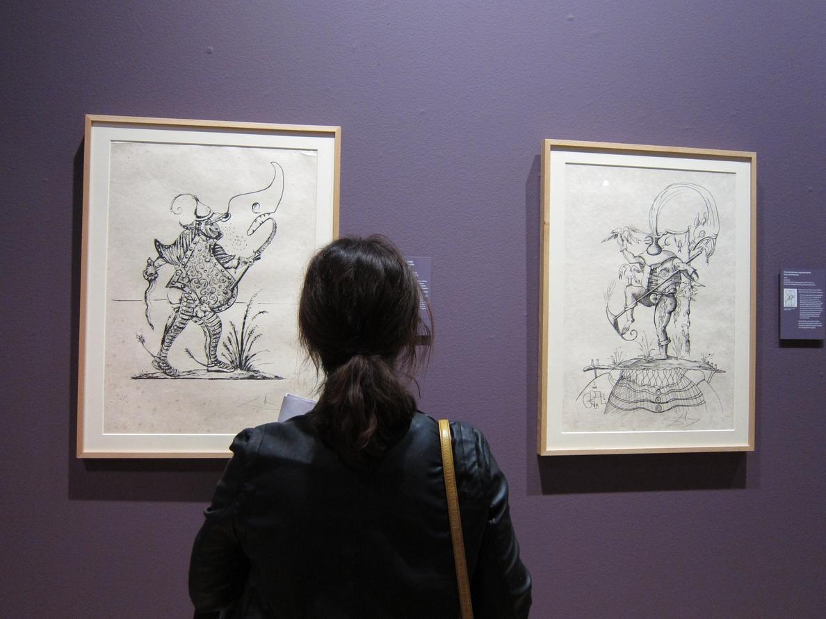 Más de 15.000 personas disfrutan de la exposición de Salvador Dalí en el Palacio de Sástago