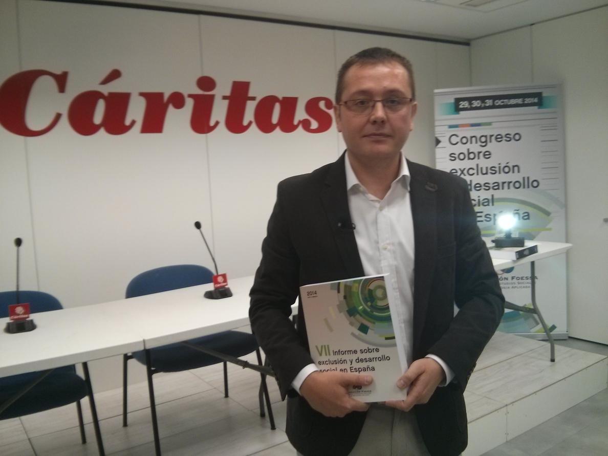 Un informe sitúa la tasa de pobreza en Extremadura en 2013 en el 30,9%, la segunda más alta del país