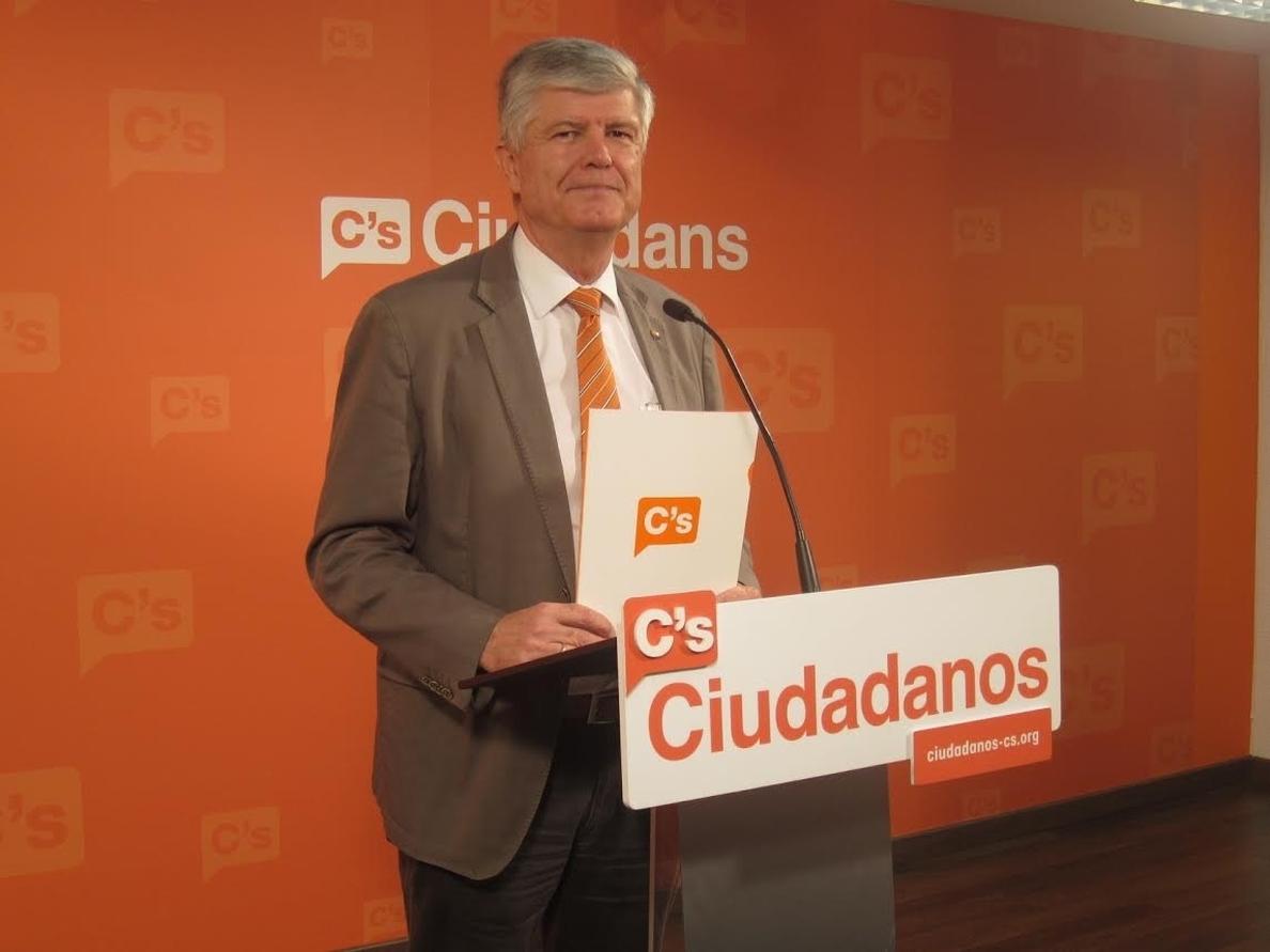 Alonso (C»s) avisa de que no cumplir la ley representa un «uso fraudulento de poder»