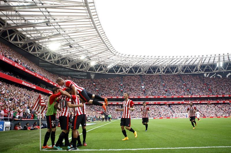 El Athletic derrota al Sevilla y coloca líder en solitario al Real Madrid