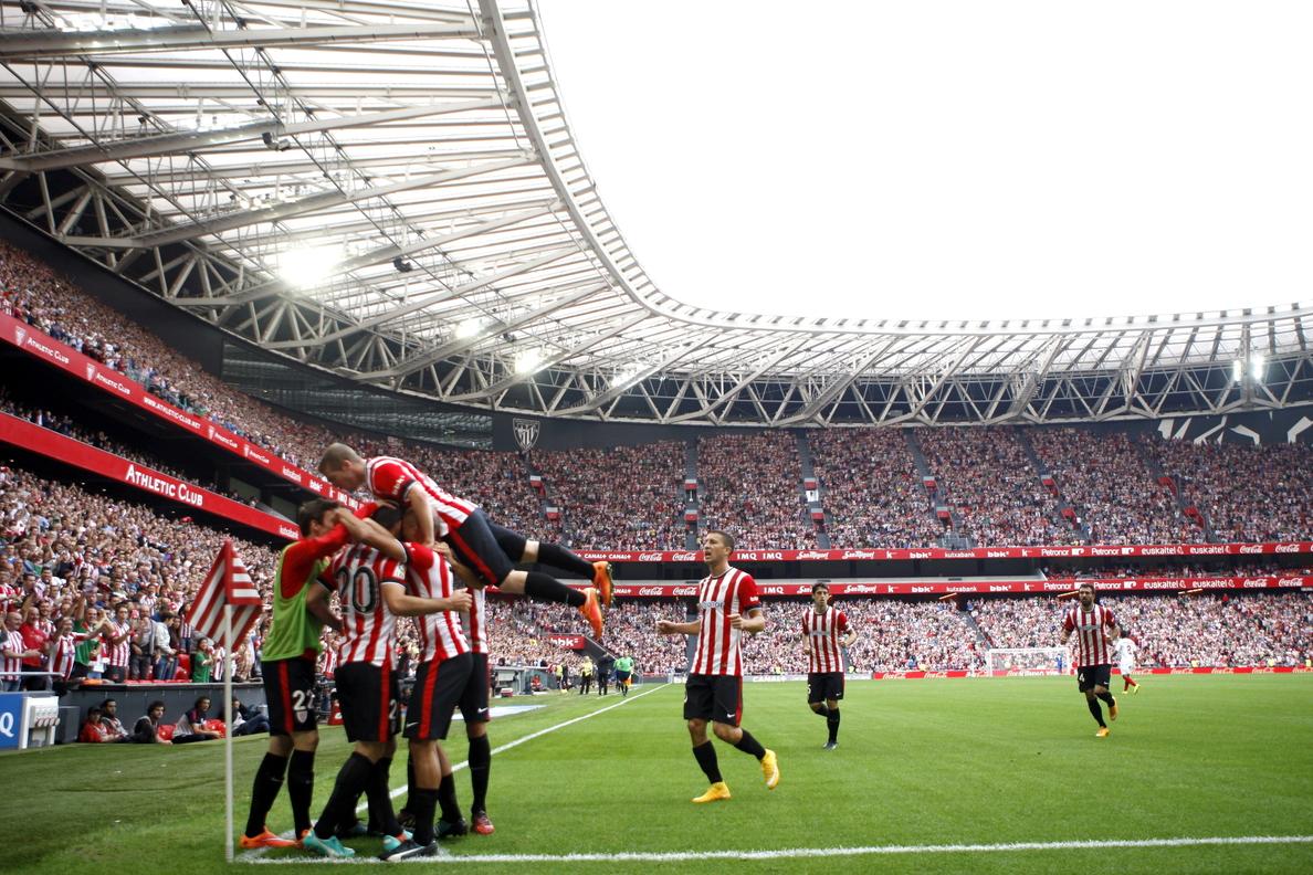 1-0. El Athletic frena al Sevilla y se impulsa en la tabla