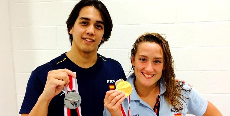 Belmonte brilla con tres nuevos oros en Singapur y Ortiz-Cañavate, dos platas