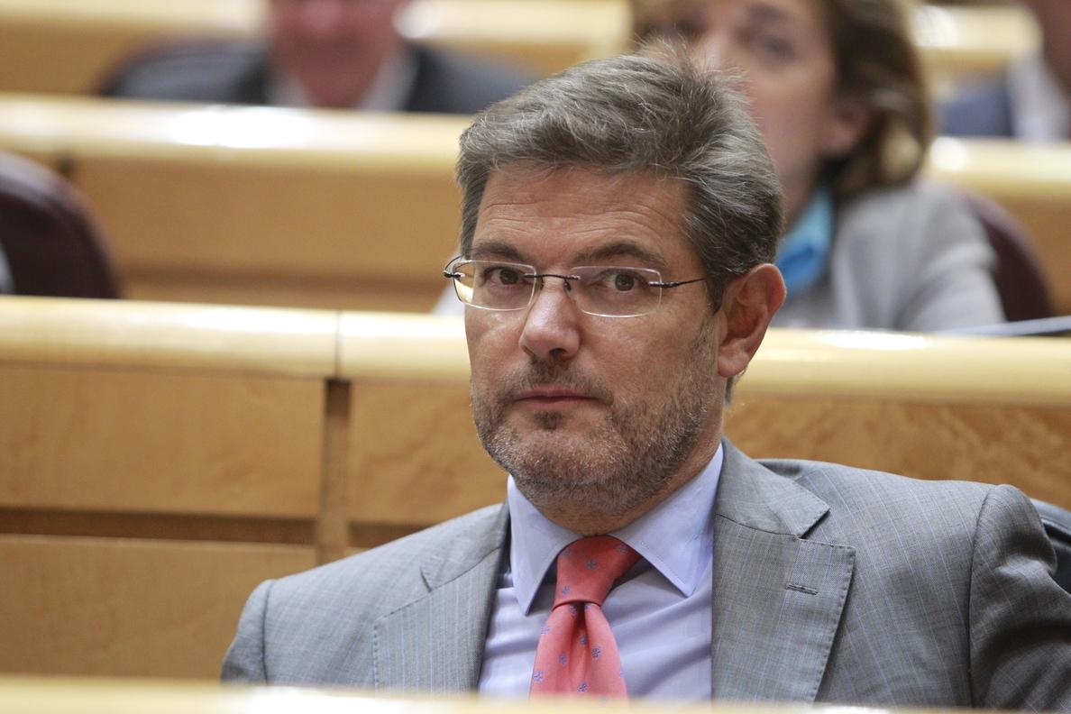 Catalá convoca para el martes la Mesa Sindical y para el jueves la Conferencia Sectorial de Justicia