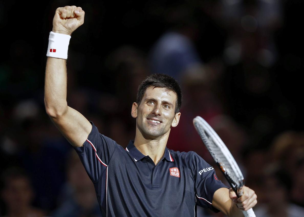 Djokovic reedita el triunfo en Bercy y se refuerza ante Federer