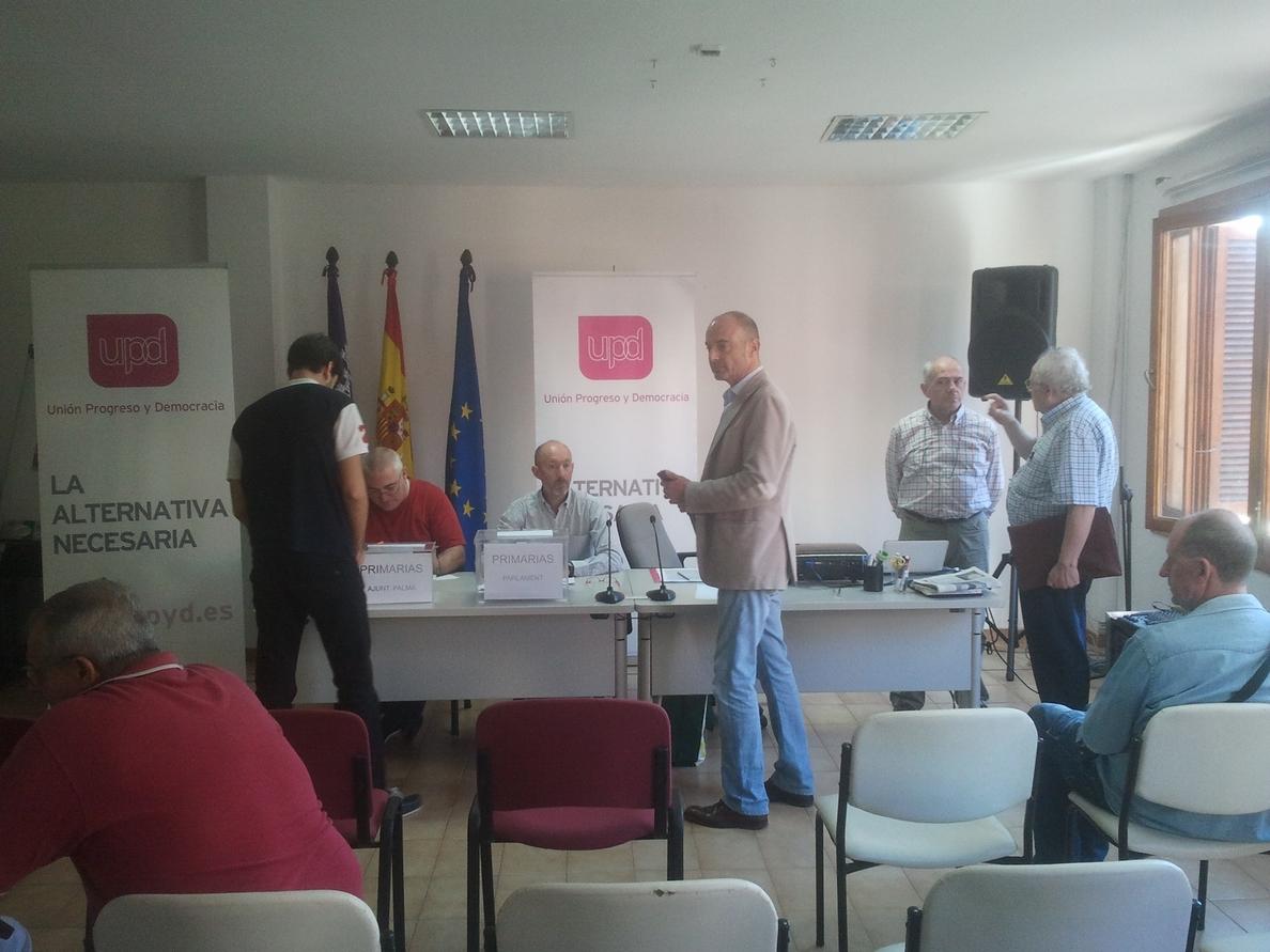 Juan Antonio Horrach y José Segador serán los candidatos de UPyD al Parlament y Francisco Alegret, para Cort