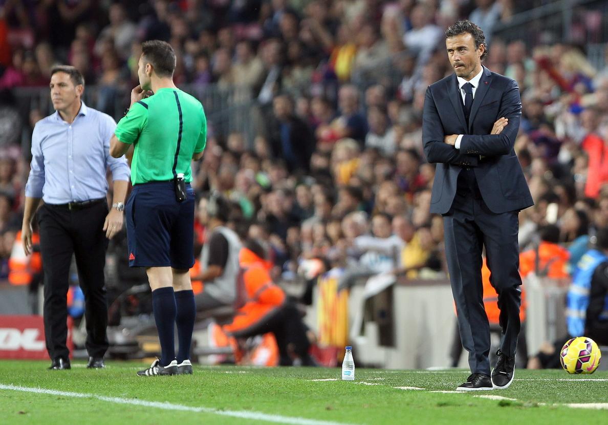 Los señalados del Barcelona: Luis Enrique, Piqué, Alves, Bartomeu y Zubizarreta