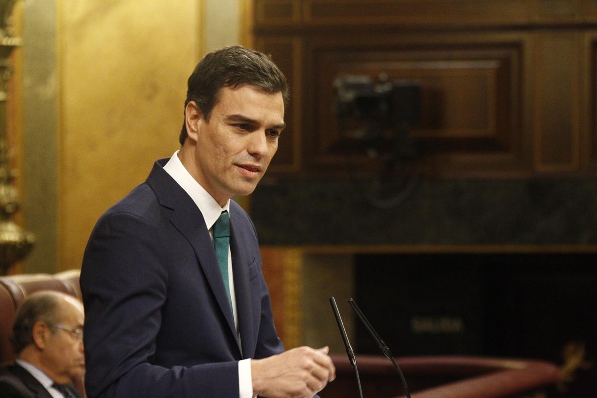 Sánchez atribuye a la corrupción el éxito de »Podemos» y cree que el PSOE ha frenado su caída