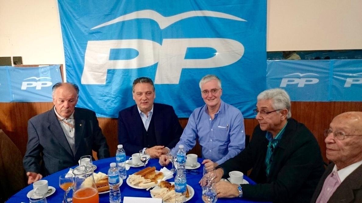 Prada (PP): «En el Partido Popular no existe la impunidad contra la corrupción»