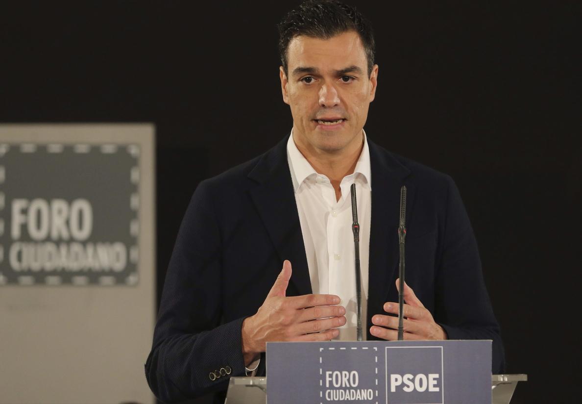 El auge de Podemos y la frialdad de Susana Díaz desinflan el «efecto Pedro Sánchez»