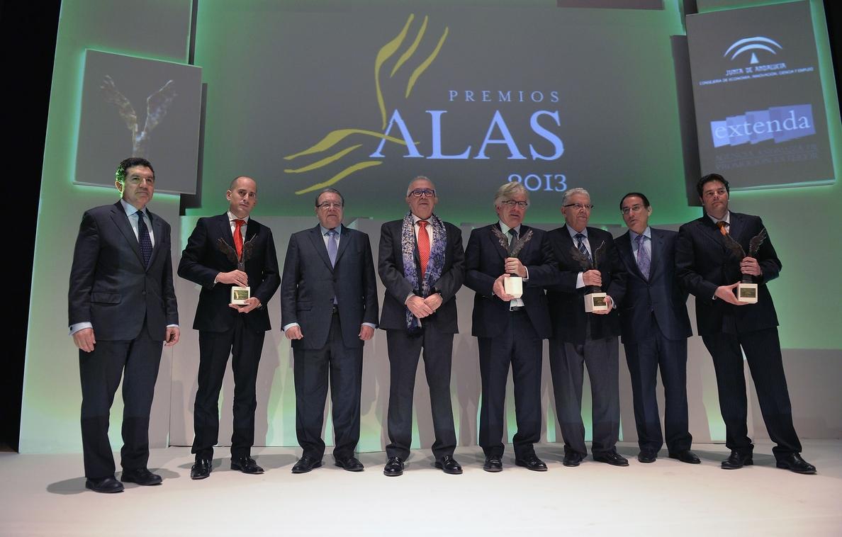 Más de 150 empresas competirán en la XII edición de los Premios Alas a la Internacionalización de la Empresa Andaluza