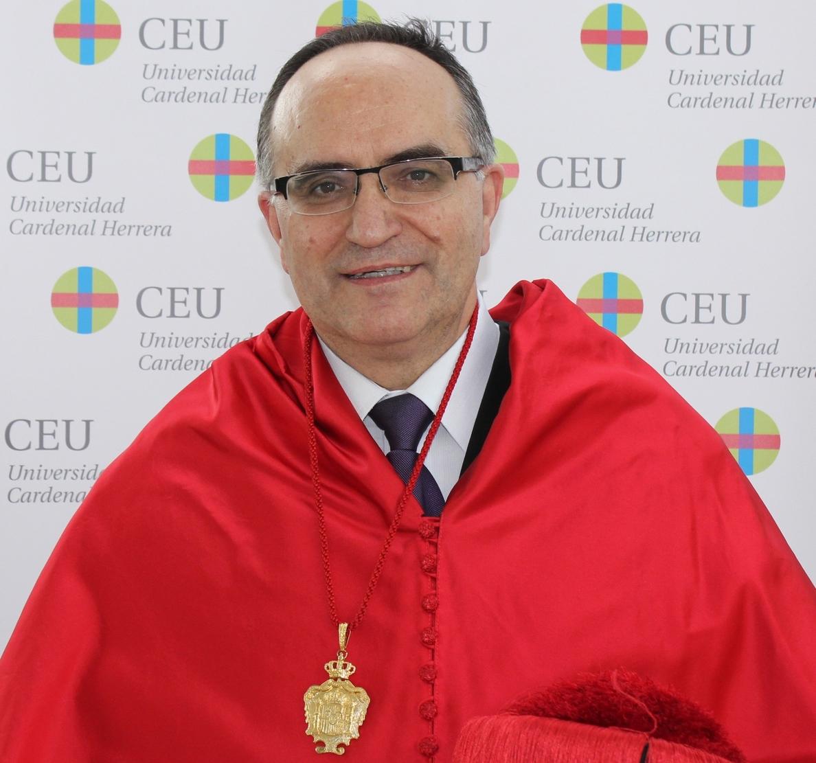 Remigio Beneyto, catedrático de Derecho Eclesiástico de la CEU-UCH, ingresa en la Real Academia de Jurisprudencia