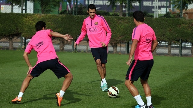 Busquets no quiere comparar la situación del Barça el Real Madrid