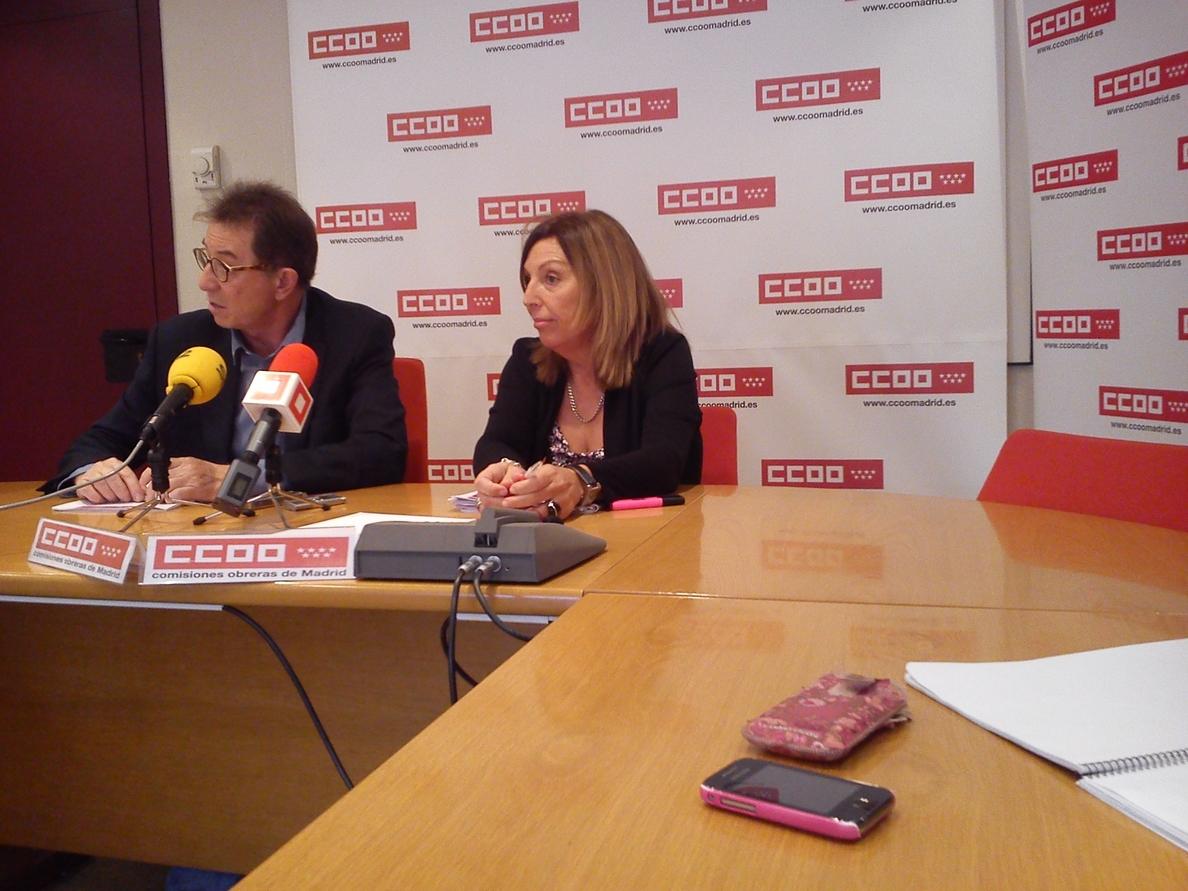 CC.OO pide la retirada del ERTE en el servicio de limpieza viaria y se aumente en 2.300 empleados la plantilla actual