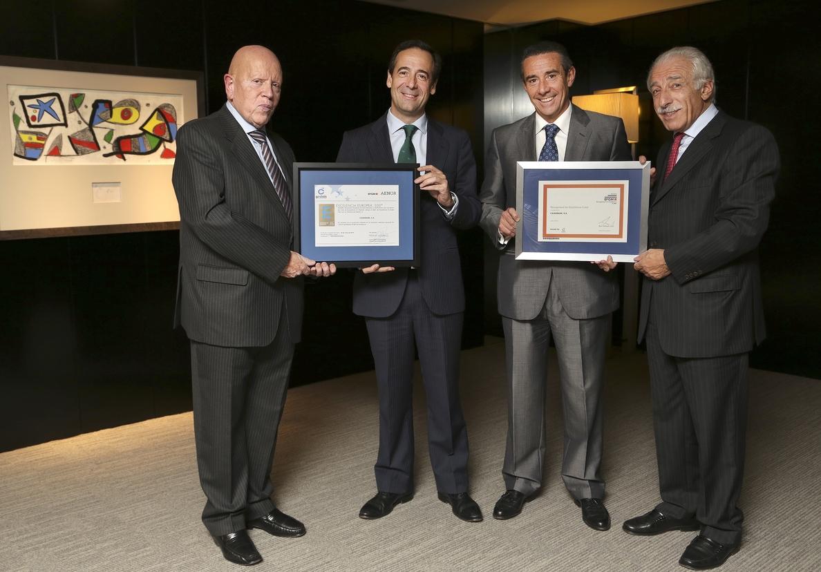 CaixaBank alcanza el Sello de Excelencia Europea EFQM con más de 600 puntos