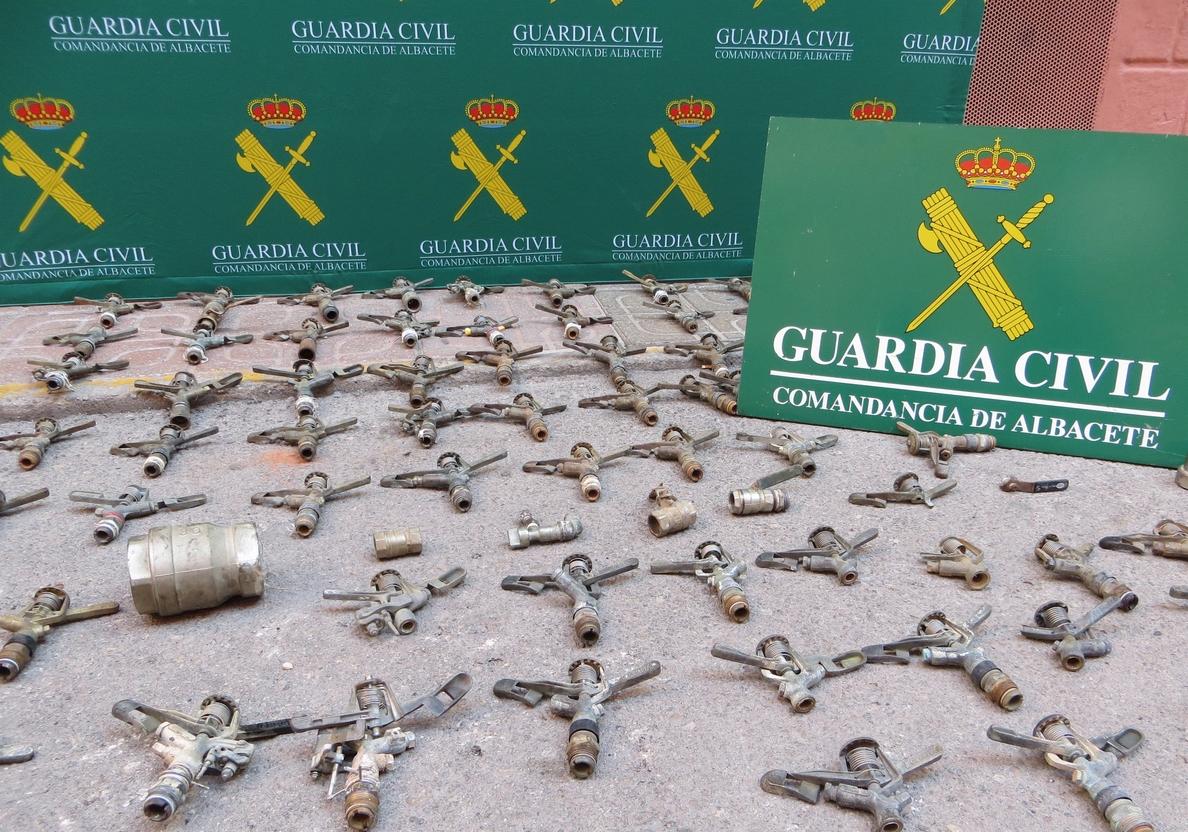 Detenida una persona por seis delitos de hurto cometidos en explotaciones agrarias de Albacete