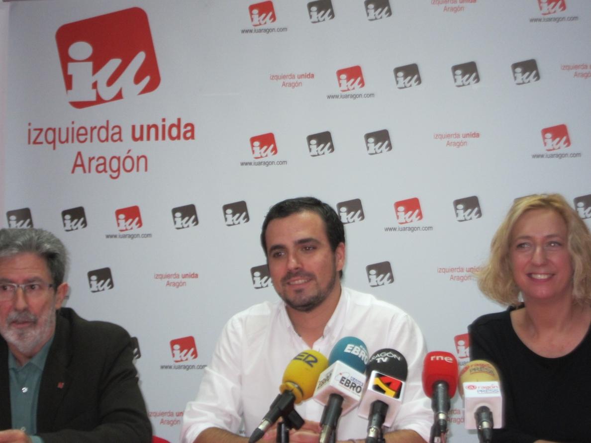 Garzón (IU) defiende un espacio común de movimientos ciudadanos para cambiar la sociedad con valores de justicia social