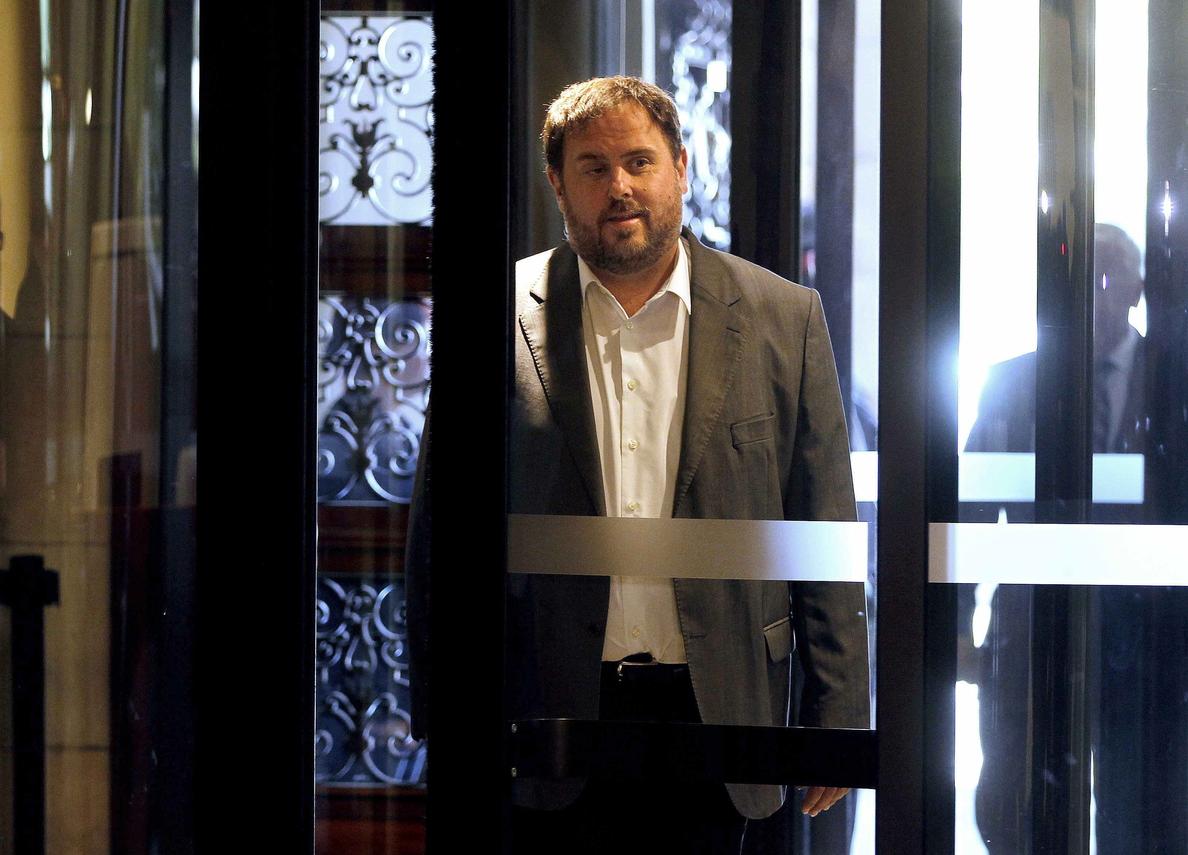 Junqueras exige a Mas que  mantenga el 9N ante el TC