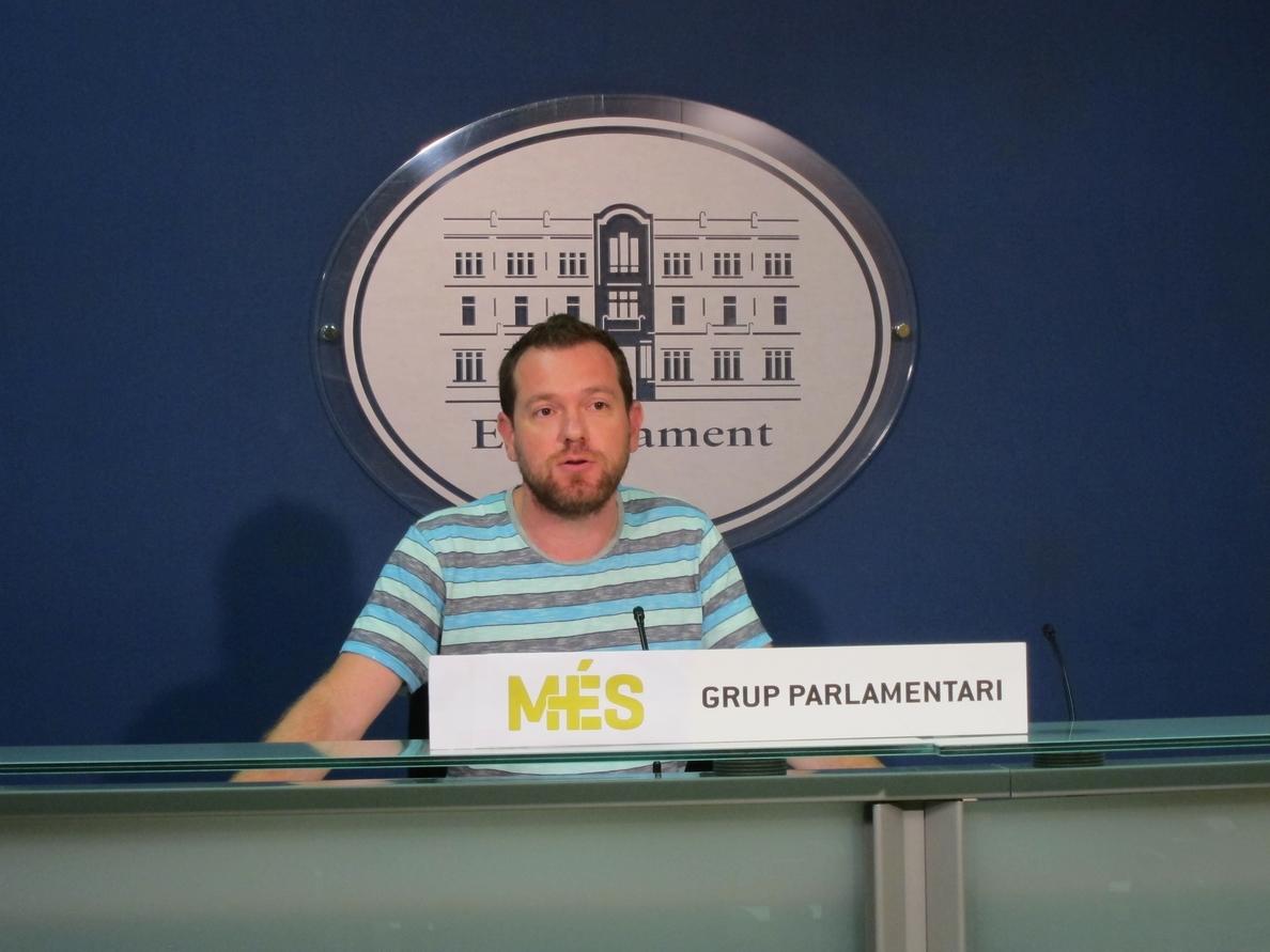 MÉS: «No somos Podemos pero nos sentimos parte de este cambio de régimen necesario»