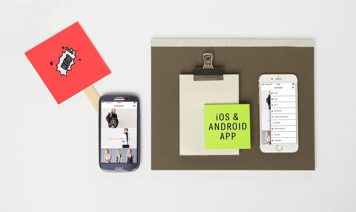 Oysho (Inditex) lanza su »app» para Android para facilitar el proceso de compra