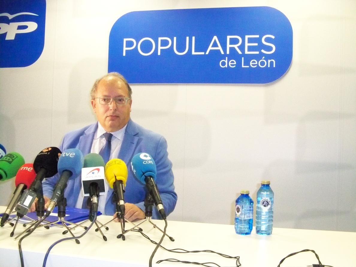 El PP propone a Emilio Orejas para sustituir en la Diputación a Martínez, al que expulsará del partido