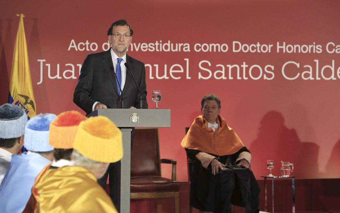 Rajoy: decadencia es conformismo y las reformas dan calidad a instituciones
