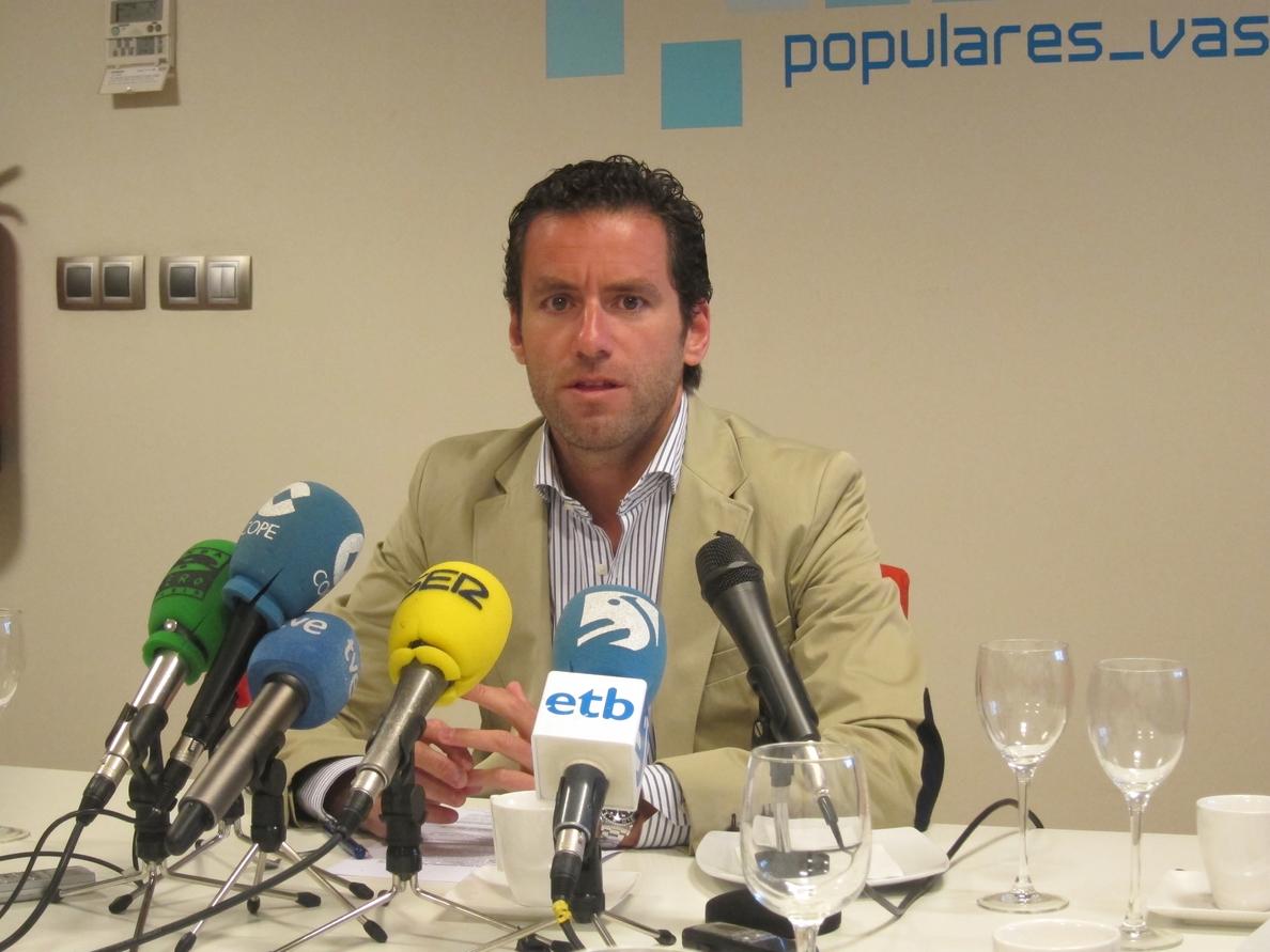 Sémper (PP): «El perdón es una demostración mínima de un dirigente político cuando en tus filas ha habido chorizos»
