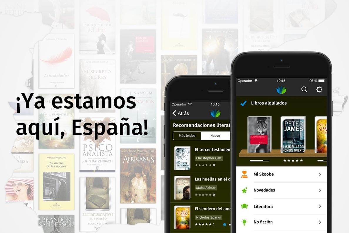 La tarifa plana de libros digitales de Skoobe llega a España
