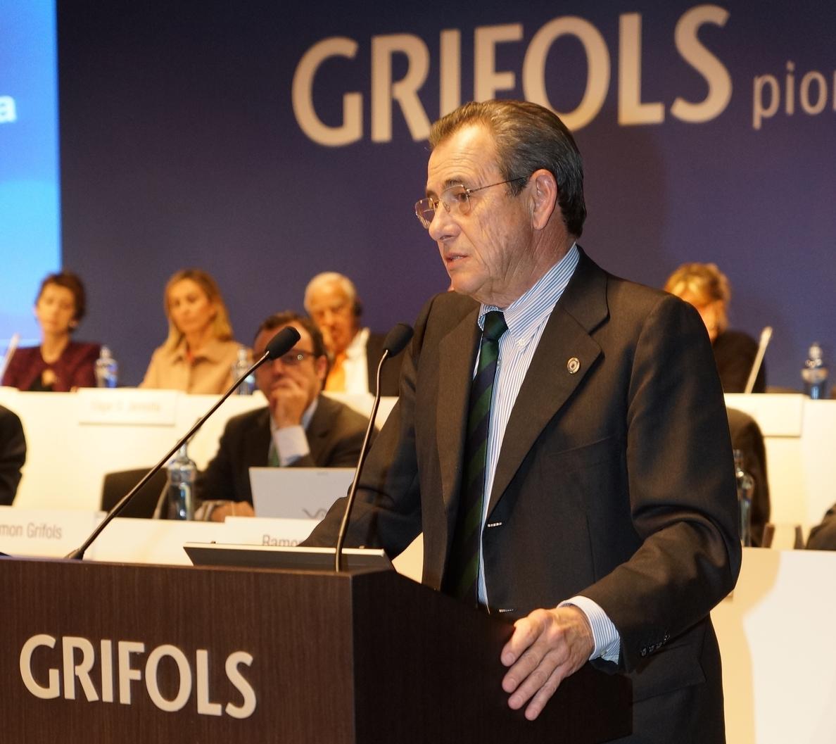 El beneficio neto de Grifols aumentó un 26,9% hasta septiembre, con 339 millones