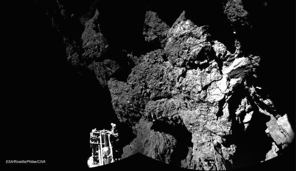 Rosetta y Philae conversan en las redes sociales