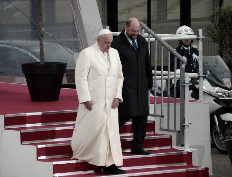 El discurso completo del Papa Francisco en el Europarlamento de Estrasburgo