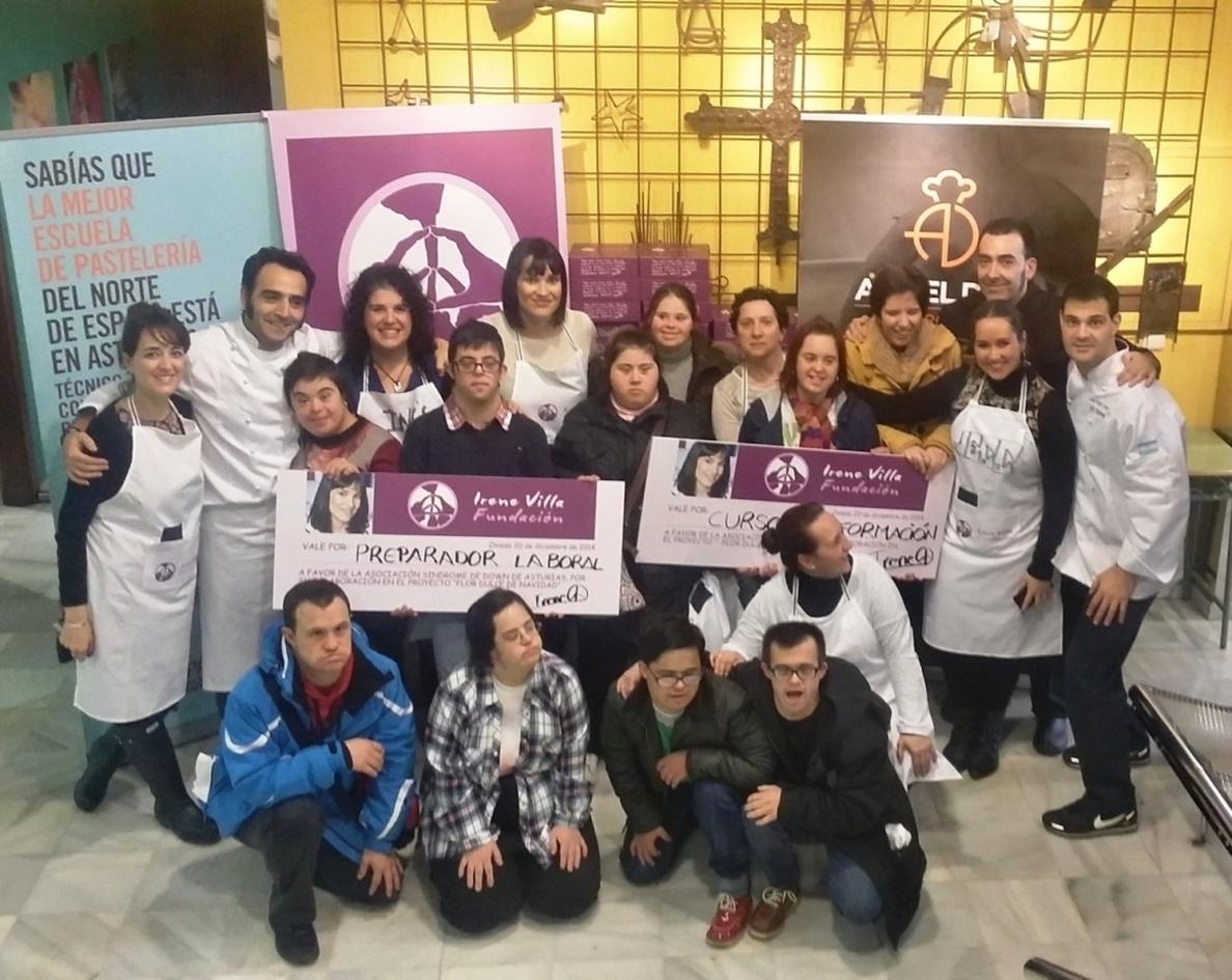 La Fundación Irene Villa recauda casi 7.000 euros para personas con discapacidad en Asturias