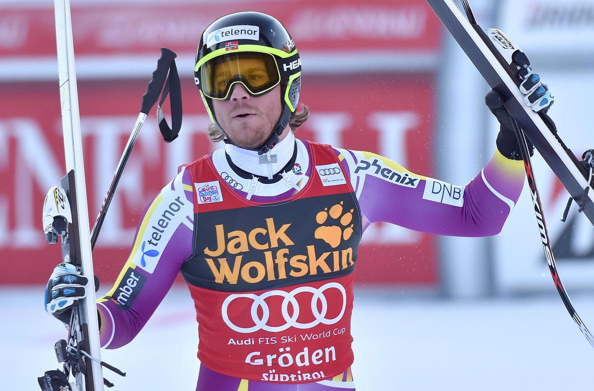 Jansrud vuelve a la senda del triunfo al ganar el supergigante de Val Gardena