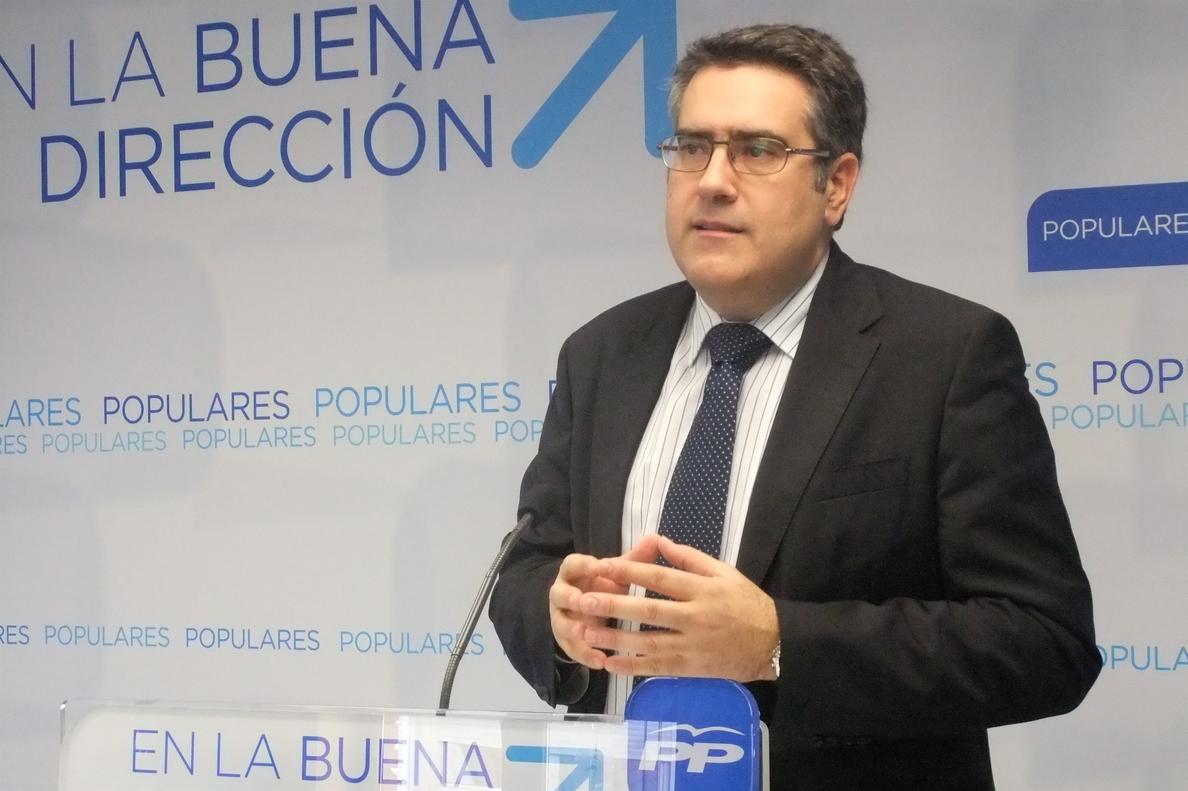 PP afirma que el PSOE de C-LM y Page «se insinúa a los radicales de forma casi obscena»