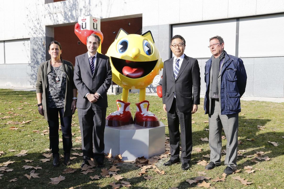 Pac-Man ya tiene su estatua en la Universidad Rey Juan Carlos