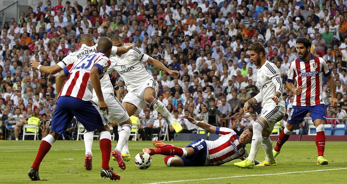 El Real Madrid-Atlético, vuelta de octavos, fijado para el 15 de enero