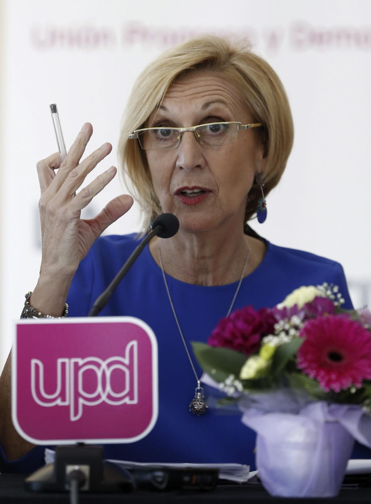 Rosa Diez celebra que por primera vez un juez condene al PP por «mentiroso»