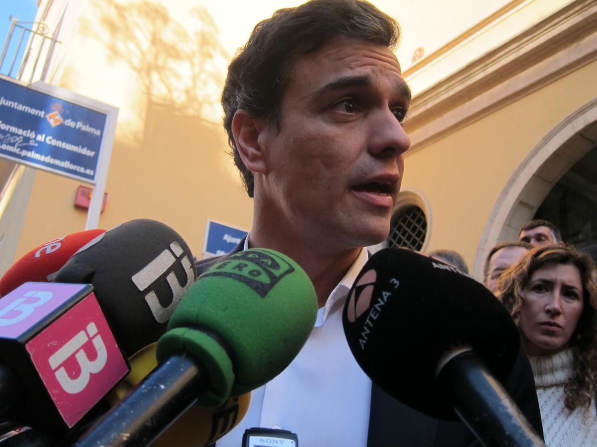 Sánchez dice estar «de enhorabuena» tras la sentencia del Supremo sobre la reforma laboral